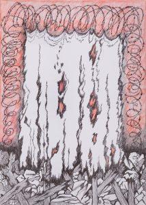 Shroud-at-halfmast